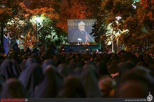 عکس/ شب هشتم محرم؛ مسجد ارک تهران