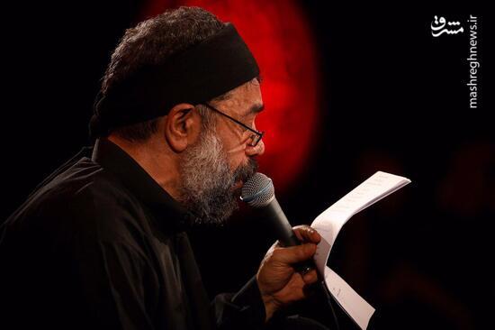فیلم/ نوحه جانسوز اربعین با نوای محمود کریمی