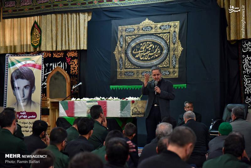 تشییع پیکر شهید «محسن مهاجر قوچانی»