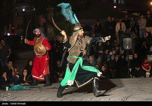 عکس/  مراسم تعزیه خوانی شب تاسوعا در تهران
