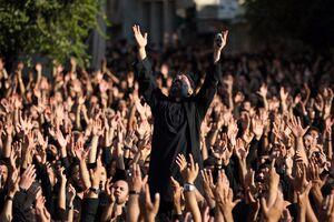 عکس/ چهارپایه خوانی حاج محمود کریمی در چیذر