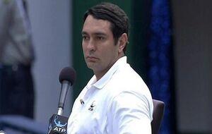 قضاوت داور ایرانی فینال تنیس آزاد آمریکا