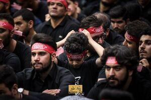 عکس/ عزاداری شب نهم محرم؛ هیئت ریحانه الحسین(ع)