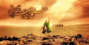 و اینک ما هستیم و یک لبیک «هل من ناصر» امام!