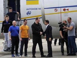 تبادل زندانیان بین روسیه و اوکراین