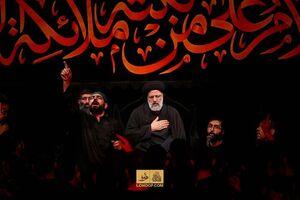 فیلم/ روضهخوانی حجتالاسلام رئیسی در هیئت ریحانه الحسین(ع)