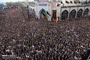 مراسم عزاداری تاسوعای حسینی در اردبیل