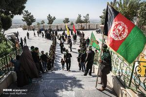 عکس/ عزاداری افغانستانیهای مقیم تهران