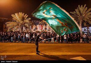 فیلم/ مراسم عزاداری شب عاشورای حسینی کیش