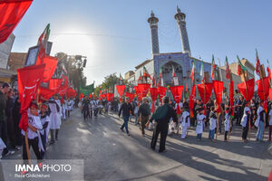 عکس/ تاسوعای حسینی در نجف آباد