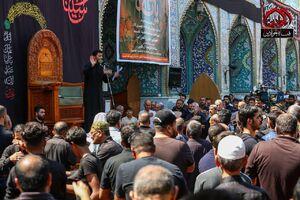 عکس/ مراسم روز عاشورا در کاظمین