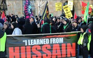 عزادران حسینی در آمریکا