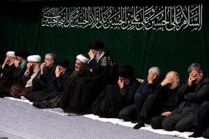 آخرین شب عزاداری امام حسین(ع) در بیت رهبری