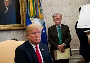 ترامپ و بولتون