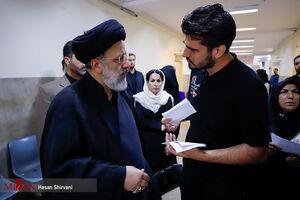 بازدید سرزده رئیس قوه قضاییه از مجتمع قضایی شهید مطهری