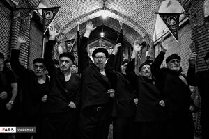 عکس/ سوگواری سوم شهادت امام حسین (ع) در تبریز