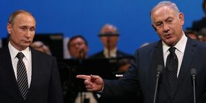 تلاش نتانیاهو برای تهدیدآمیز جلوه دادن ایران برای روسیه