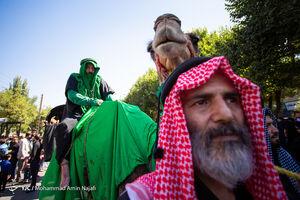 عکس/ تشییع نمادین طایفه بنیاسد در همدان