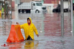 عکس/ بارش شدید باران در مکزیک