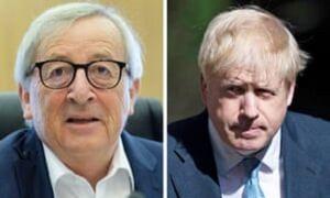 جانسون با اتحادیه اروپا مذاکره میکند