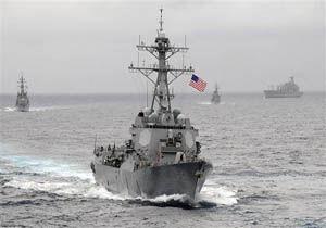 فیلم/ مقابله سپاه با یاغیگری ائتلاف دریایی آمریکا