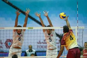 والیبال ایران و سریلانکا