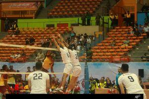 عکس/ دیدار تیم ملی والیبال ایران و سریلانکا