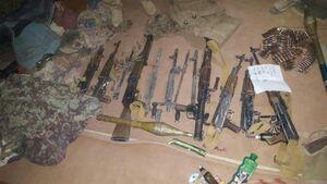 نابودی بزرگترین انبار مواد منفجره طالبان