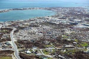 وضعیت باهاما یک هفته پس از وقوع طفان