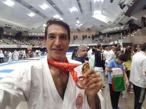 کاراتهکای ایران پساز ۲۶ سال دوباره طلا گرفت +عکس