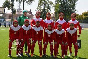 دومین پیروزی بانوان فوتبالیست ایران مقابل قرقیزستان +عکس