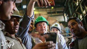 عکس/ سلفی کارگران معدن با مارک ویلموتس