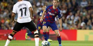 فیلم/ خلاصه دیدار بارسلونا ۵-۲ والنسیا