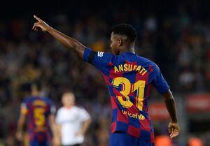 برتری پرگل بارسلونا مقابل والنسیا/ درخشش دوباره فاتی و دبل سوارس +فیلم