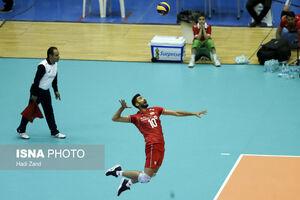 عکس/ دیدار تیمهای والیبال ایران و قطر