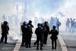ادامه بازداشت مردم فرانسه +عکس