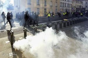 عکس/ ادامه نا آرامیها در پاریس