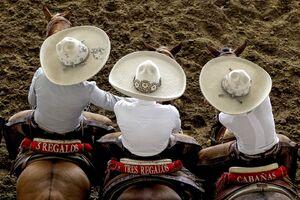 عکس/ مراسم گاوبازی در روز ملی مکزیک