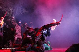 عکس/ اجرای نمایش عاشورایی در بندرعباس