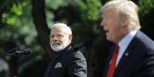 ترامپ نخست وزیر هند