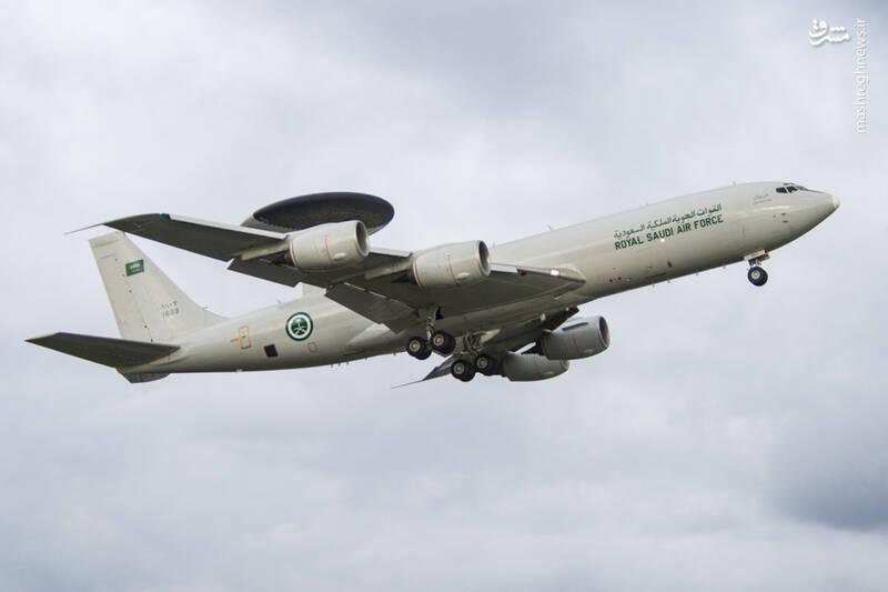 رادار هوابرد مدل E-۳ نیروی هوایی عربستان