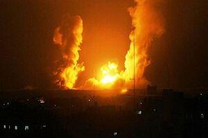 وقوع چند انفجار در اطراف پایتخت سوریه +نقشه