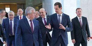 دیدار فرستاده پوتین با بشار اسد در دمشق