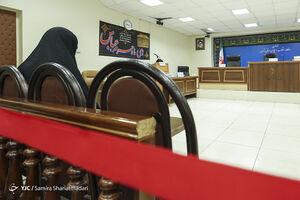عکس/ نخستین جلسه رسیدگی به پرونده شبنم نعمتزاده