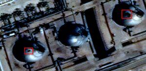 تصویر رنگی ماهوارهای جدید از آرامکو