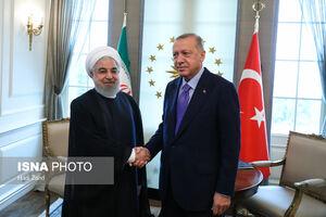 دیدار روحانی با اردوغان