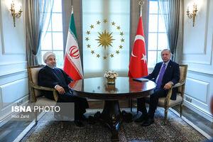 عکس/ دیدار روحانی با اردوغان