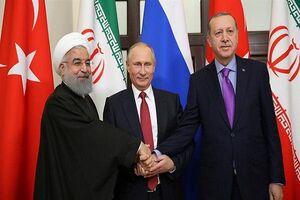 روحانی ظریف اردوغان پوتین