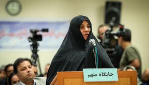 فیلم/ «شبنم نعمتزاده» از پذیرش اتهامات خود طفره میرود