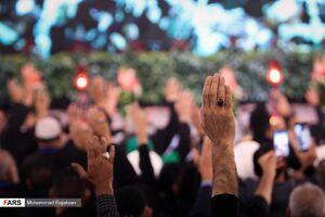 عکس/ همایش تکریم خدام اربعین امام حسین(ع) در حرم رضوی